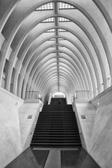 Treppenaufgang Bahnhof Liège-Guillemins