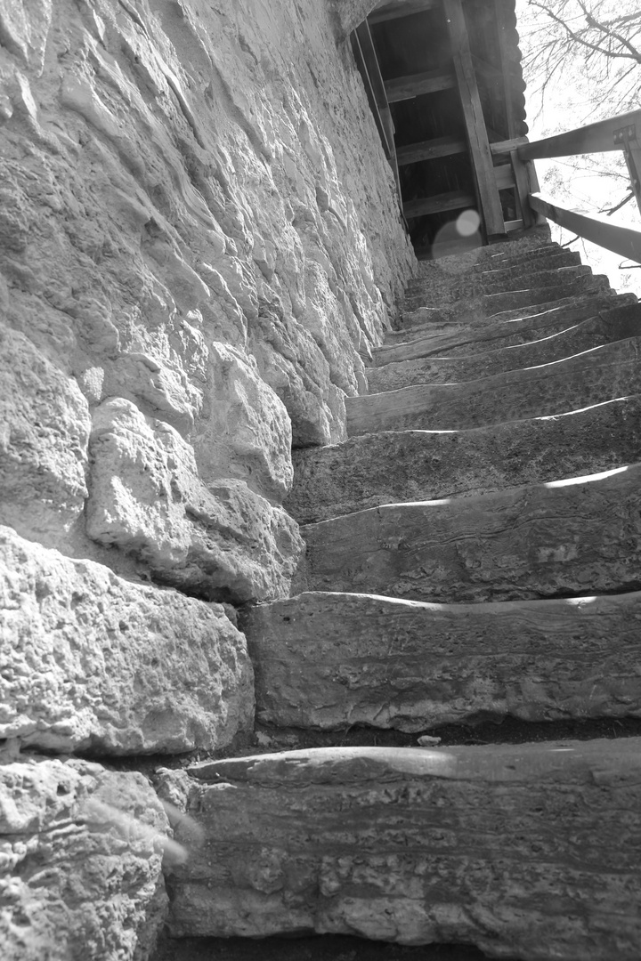 Treppenaufgang Dinkelsbühl