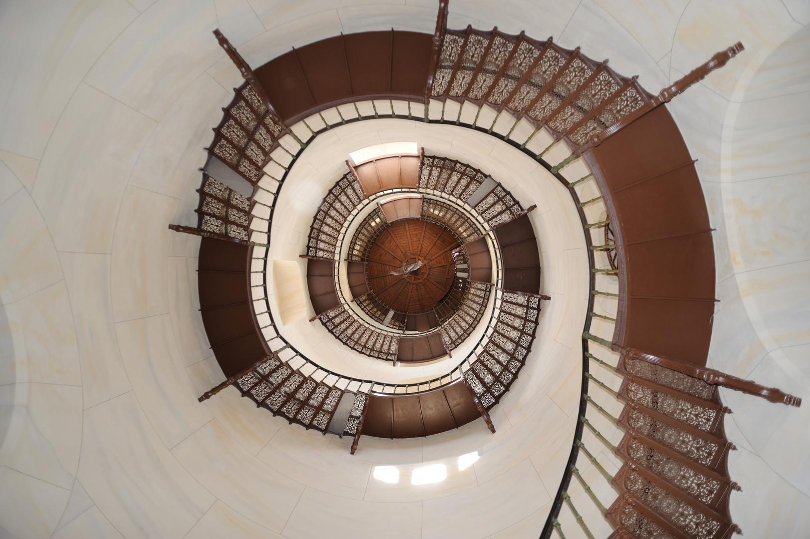 Treppenaufgang Granitz