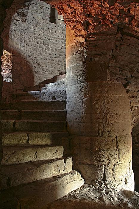 Treppenaufgang im Kloster Drübeck