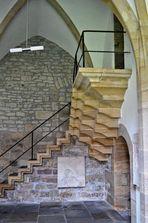Treppenaufgang im Kreuzgang des Erfurtes Doms