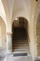 Treppenaufgang in Klagenfurt