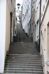 Treppenaufgang in Salzburg