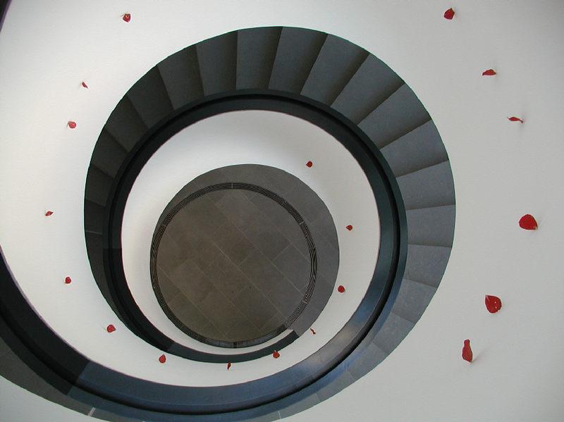 Treppenaufgang NeuesMuseum Nürnberg