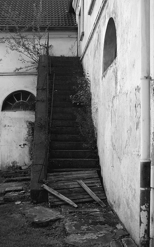 Treppenaufgang sw