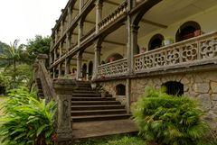 """Treppenaufgang zum """"Capuchin House"""""""