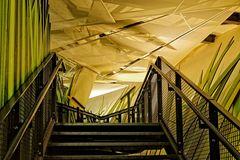 Treppenaufgang zum Licht