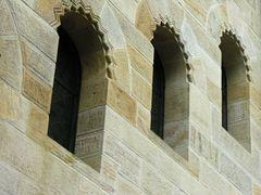 Treppenfenster der Paulus Kirche - Basel