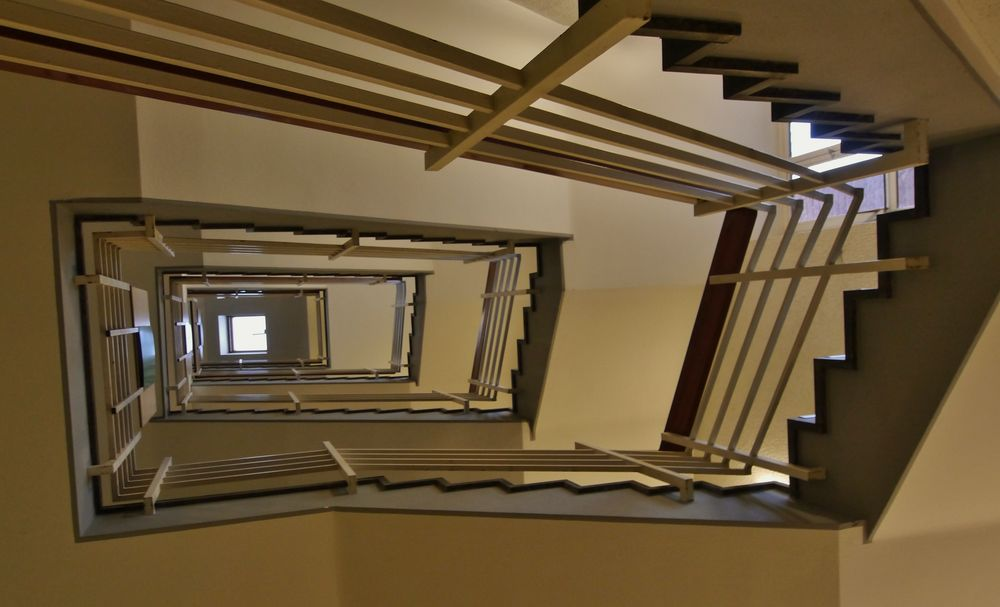 Treppenhäuser ...