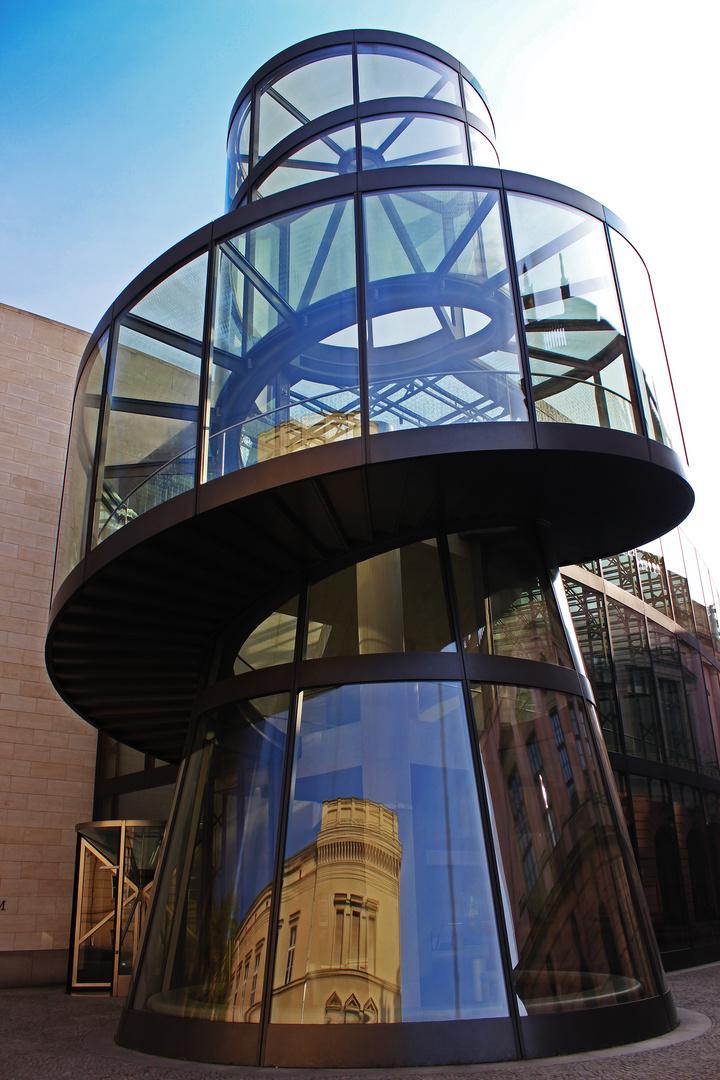 Treppenhaus am Deutschen Historischen Museum