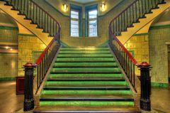 Treppenhaus Chilehaus 1