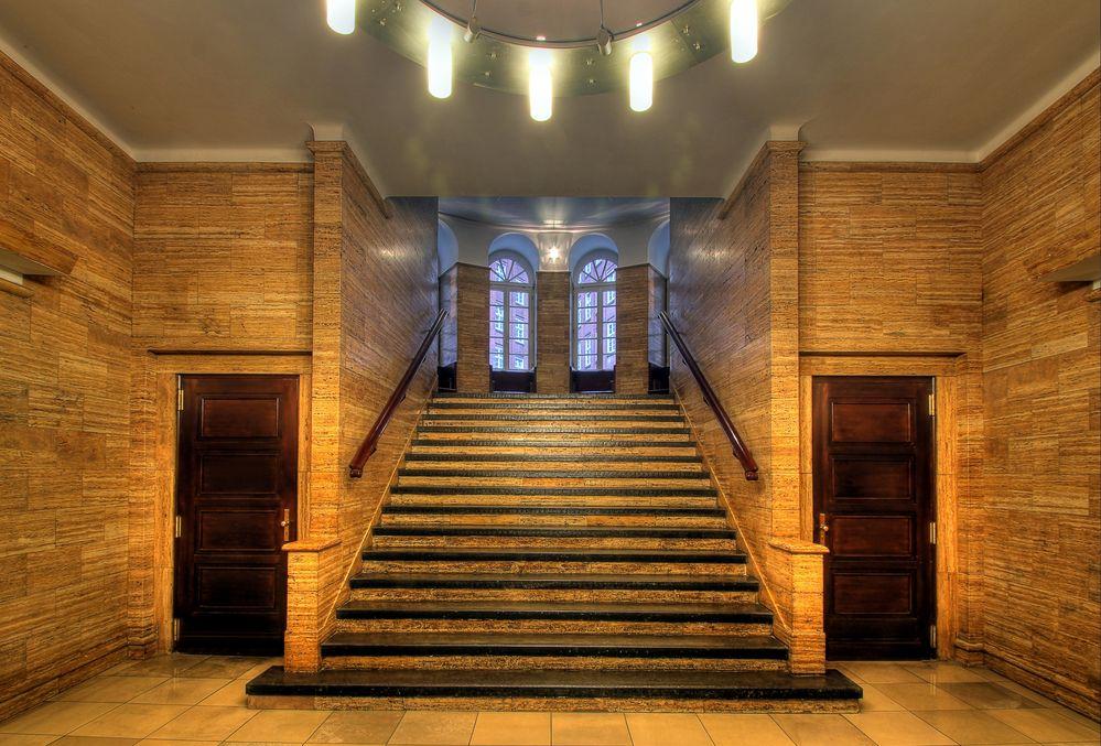 Treppenhaus Chilehaus 3