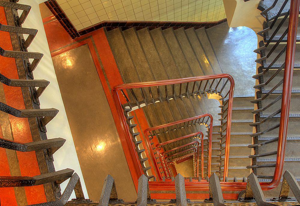 Treppenhaus Chilehaus 6