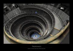 Treppenhaus des Musei Vaticani