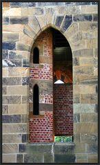 Treppenhaus-Fenster