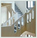 Treppenhaus geschnitten