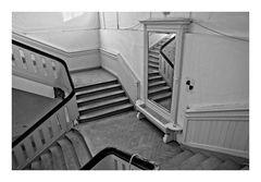 Treppenhaus im alten Kurbad