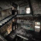 Treppenhaus im Dunkeln