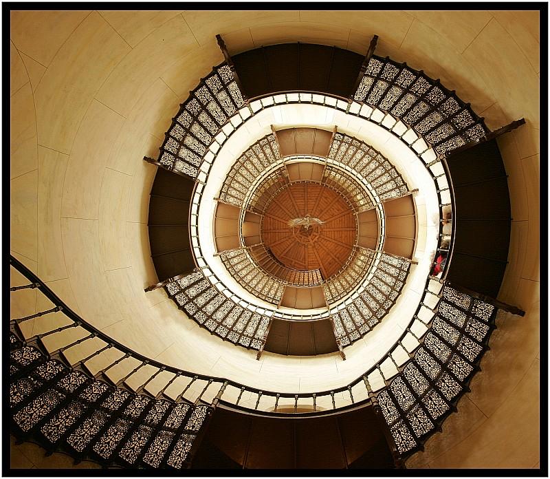 Treppenhaus im Jagdschloß Granitz