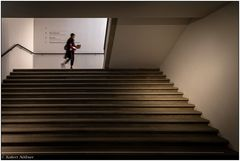 Treppenhaus im Museum der Kulturen