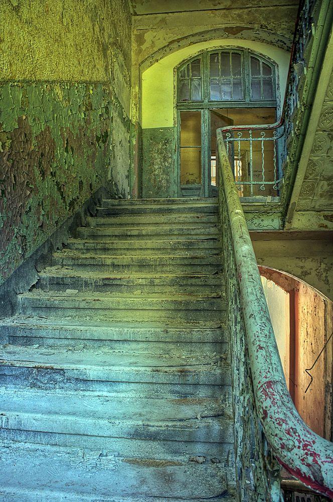 Treppenhaus in Beelitz