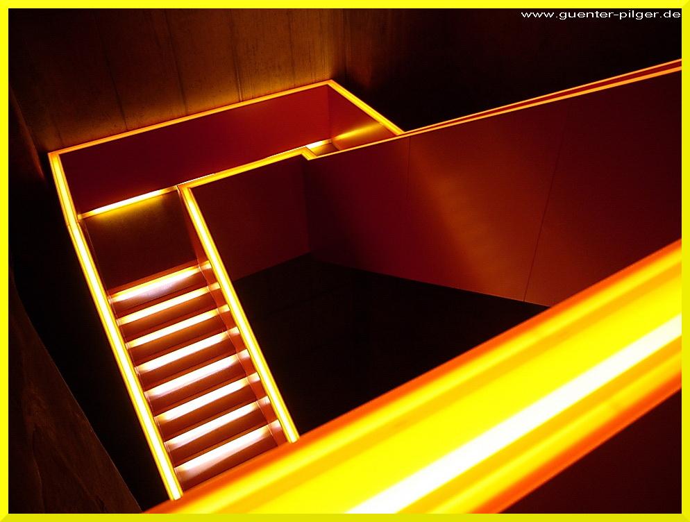 Treppenhaus in der Kohlenwäsche Zollverein, Essen
