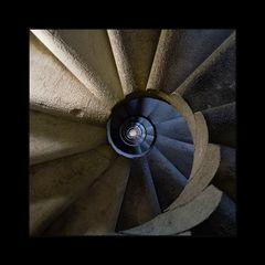Treppenhaus in der Sagrada Família