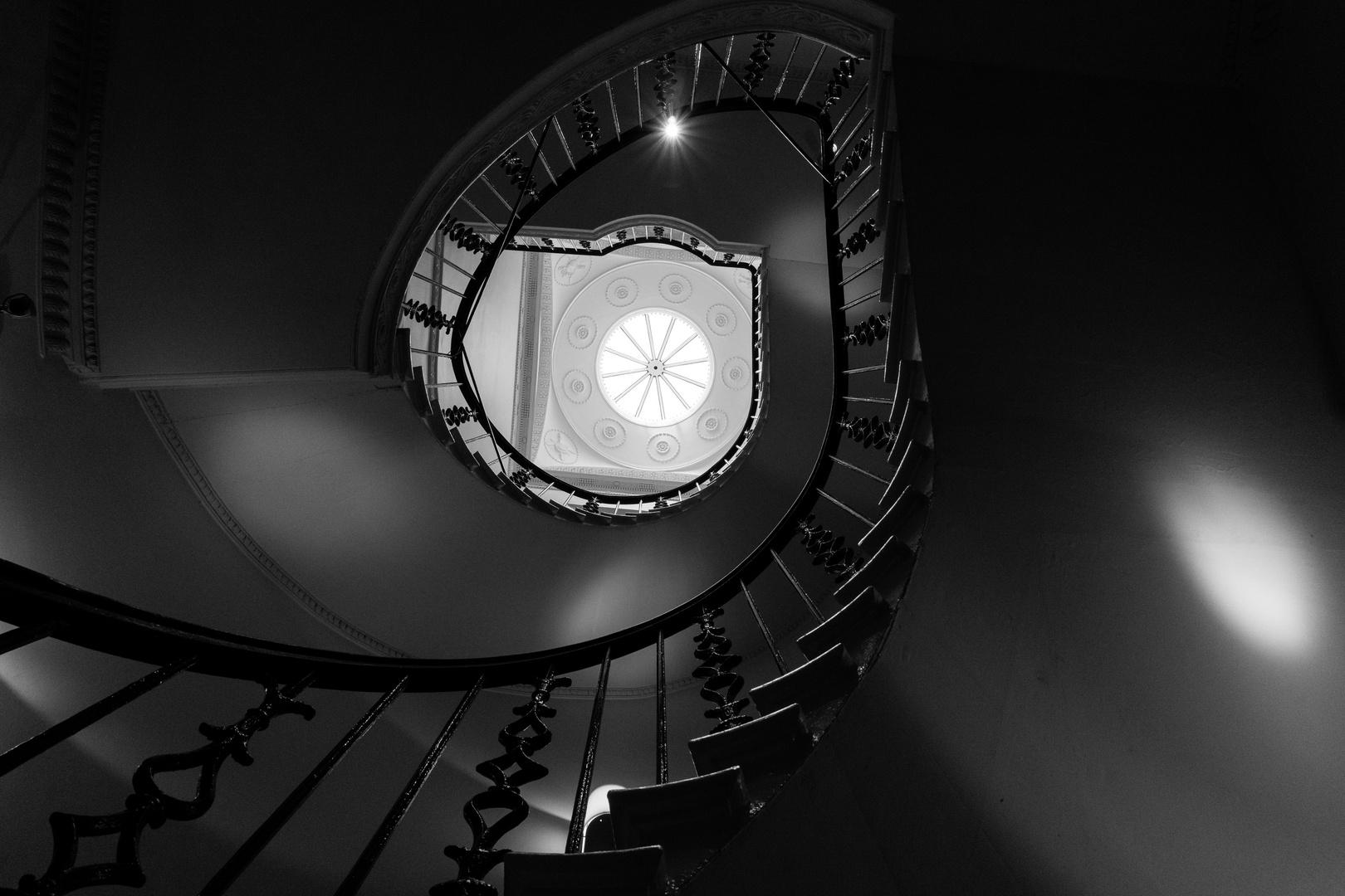 Treppenhaus in Edinburgh