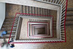 * Treppenhaus von oben *