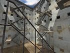Treppenhinterhof 1 / Backyard With Stairs 1