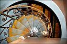 Treppenspindel zur Orgelempore