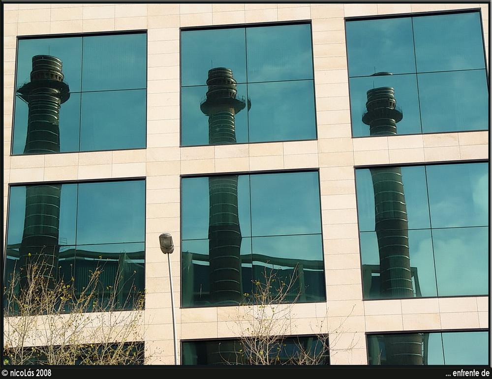 Tres chimeneas