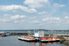 Tretboot-Vergnügen