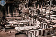 Tretbootanlegestelle am Mummelsee