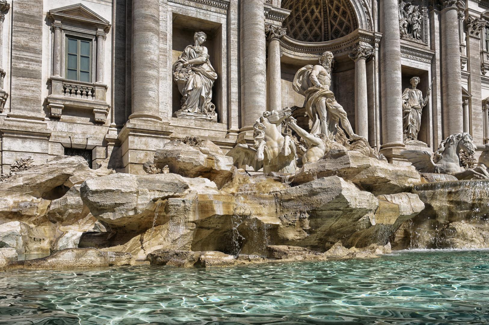 Trevi Brunnen - Rom -