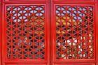 triangles, rectangles et symétrie en rouge...