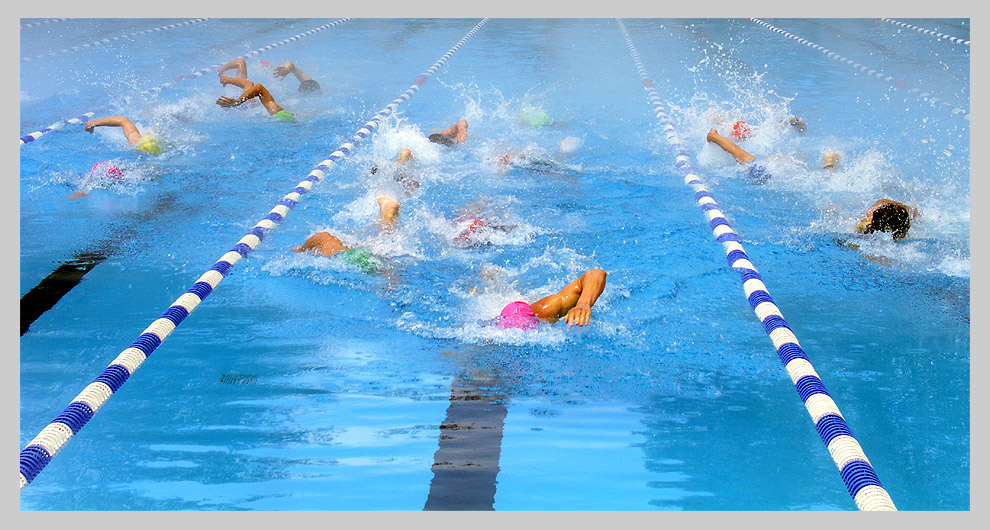 Triathlon-Getümmel