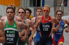 Triathlon Hamburg - Positionskämpfe