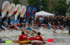 Triathlon Hamburg - Start