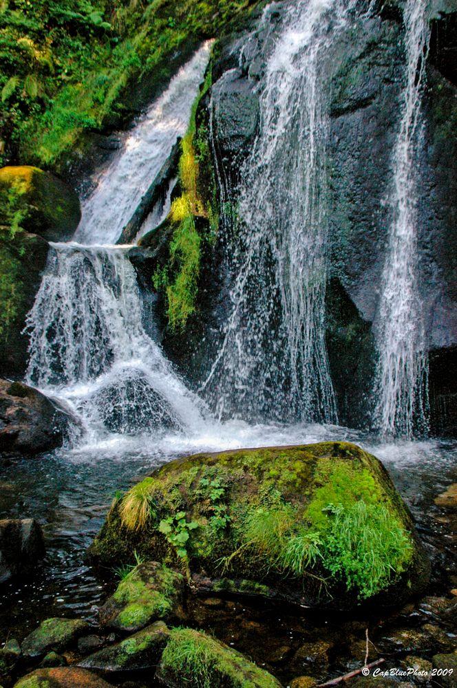 Triberger Wasserfälle Deutschlands höchste Wasserfälle
