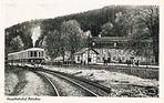 Triebwagen auf der Strecke Weimar - Kranichfeld