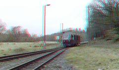 Triebwagen der Harzer Schmalspur Bahnen