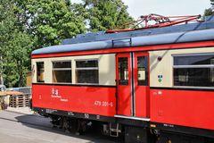 Triebwagen der Oberweißbacher Bergbahn