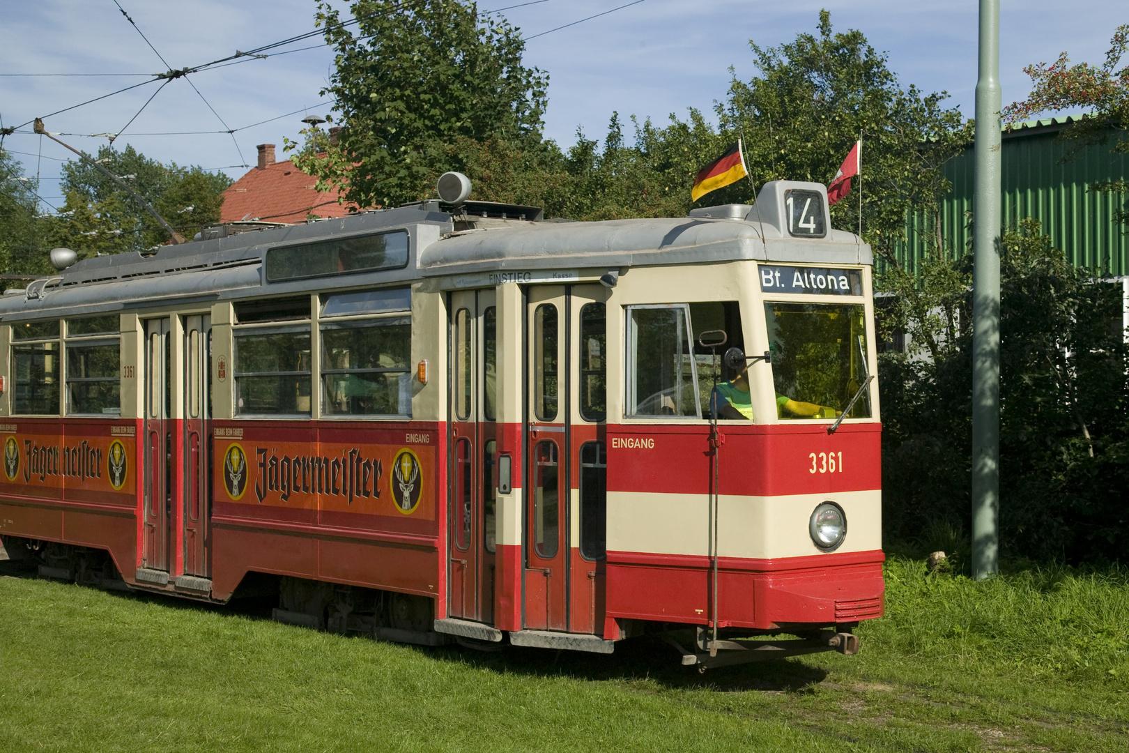Triebwagen Typ V7E der Hamburger Straßenbahn