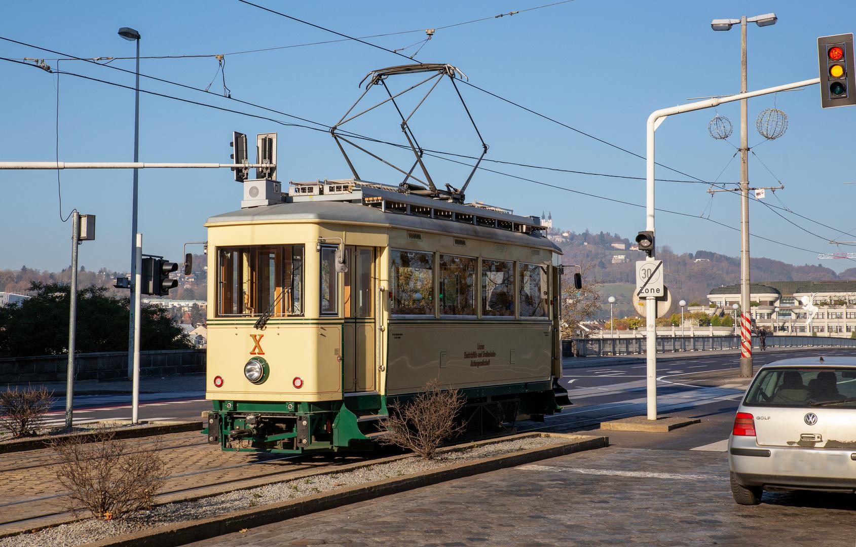 Triebwagen X der Pöstlingbergbahn