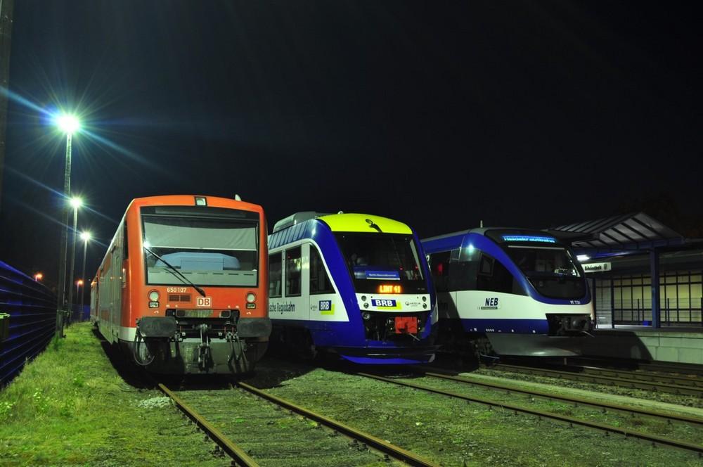 Triebwagentreffen in Basdorf