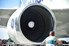 Triebwerk des Airbus Beluga