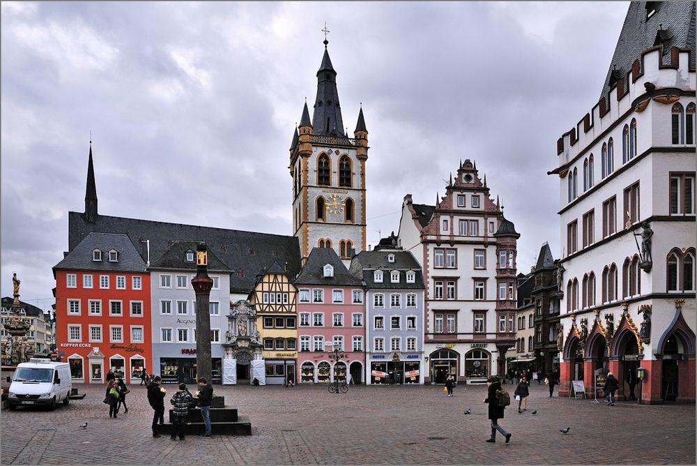 Trier - Am Hauptmarkt Jan2012