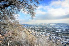 Trier im Schnee
