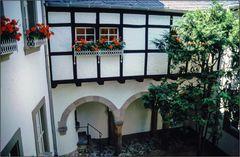 Trier: Karl Marx-Haus Innenhof
